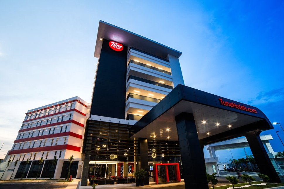 Tune Hotel klia2 welcomes you!