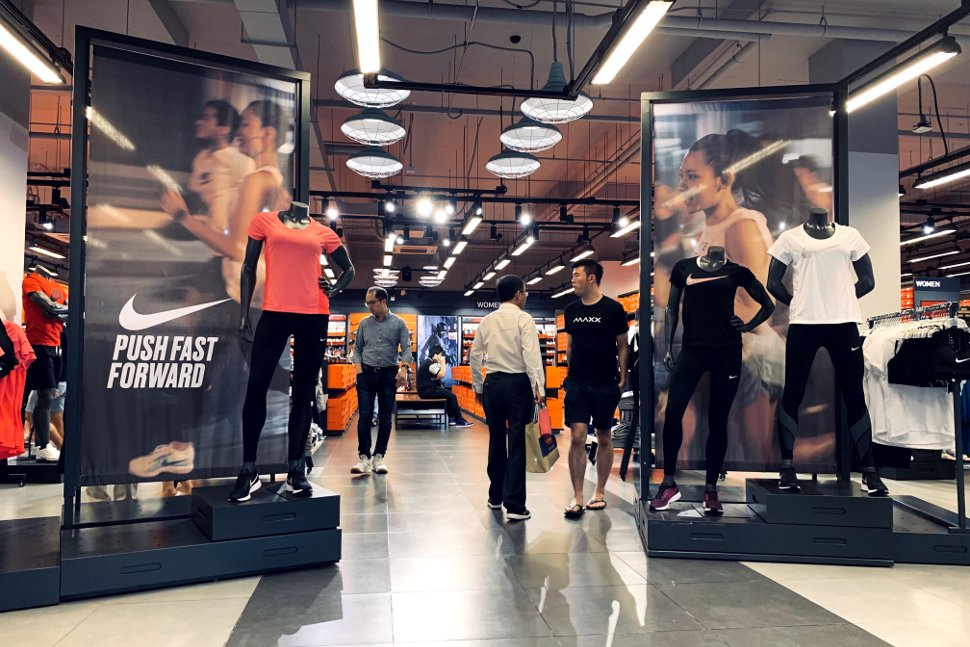 Nike shop at Mitsui Outlet Park